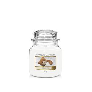Vendita yankee candle giara piccola  fragranza soft blanchet , offerta metoo-design roma