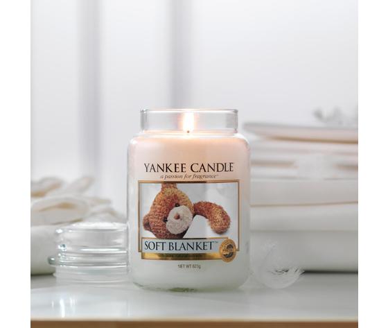Ya1173564e    soft blanket yankee candele metoo design roma