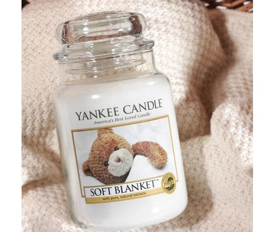 Ya1173563e    softblanket orsetto yankeecandles profumo soft blanket