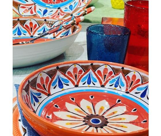 Eztma4vaoslash36    collezione madrid piatti melamina