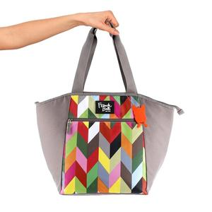 Borsa Termica Shopper da Viaggio Vacanze Ziggy Bag Misura Media  Design French Bull
