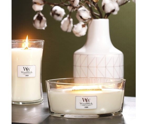 Wd76135e    candele ellipse medie linen