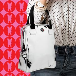 Borsa Termica / Lunch Bag colore Silver / Argento  Design French Bull