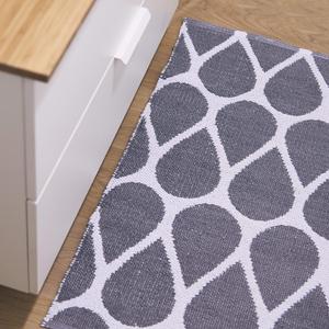 Tappeto Moderno  da Interno / Esterno Red Carpet  Mod. Drop Grigio  Pusher Design