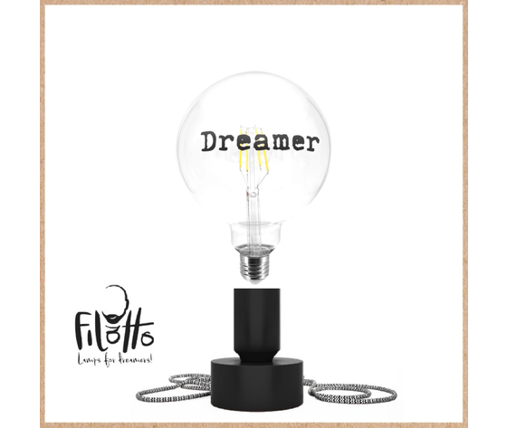 Filedtcdreamer    tavolotto nero lampadina dreamer filotto