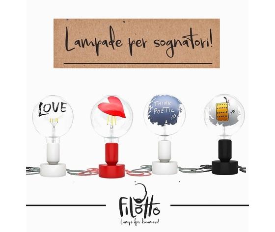 Filedteschio    lampade led decorative artistiche filotto vendita