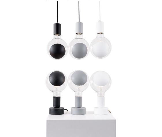 Tavolotto lampada e27 grigia vendita