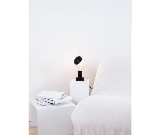 Tavolotto nero vendita lampada metoo design roma