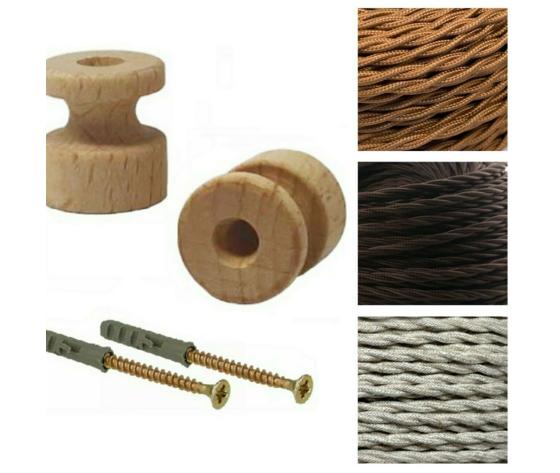 Meisol    isolatore legno merlotti cavi vendita