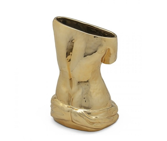 Seletti blow vasi arte oro shoppingonline