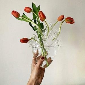 Vaso Scultura in vetro da tavolo parete Love in Bloom Glass design Seletti Vendita metoo-design roma con sconto