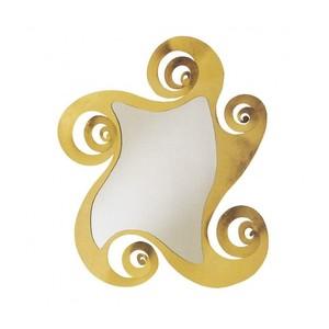 Specchio elegante con cornice decorata oro Circe Arti e mEstieri shoppingonline metoo-design roma
