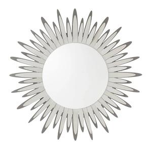Specchio a forma di sole con raggiera in ferro mod. Sting Arti e mestieri Vendita online metoo-design roma