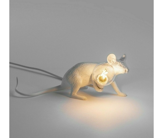 Mouselamp lie down bianco seletti