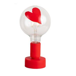 Tavolotto e lampadina led cuore , il filotto, vendita metoo-design roma