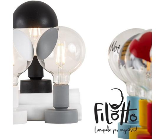Tavolotto lampade filotto