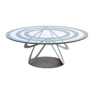 Tavolino In ferro Optical Ovale Arti e Mestieri metoo-.design