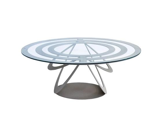 Tavolo optical ovale ardesia artiemestieri