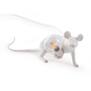 Lampada da Appoggio Scrivania mouse Lamp Seletti