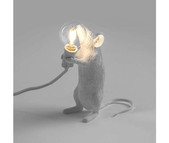 Mouse lamp bianco selettiworld
