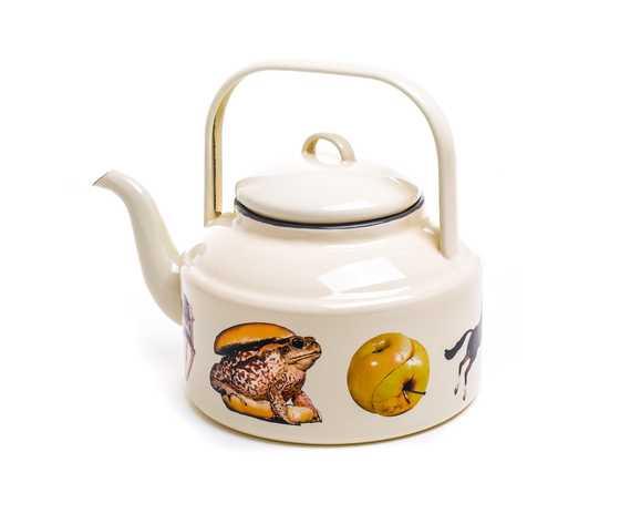 Seletti toiletpaper teapot 1700 beige frog 2