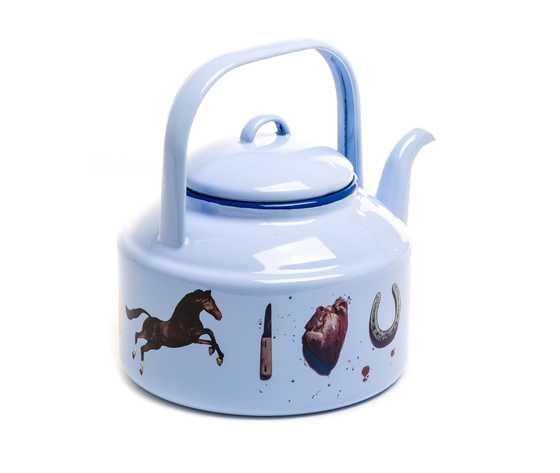 Seletti toiletpaper teapot 1700 blue love 1