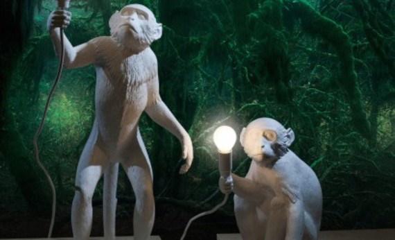 Monkey lamp 1