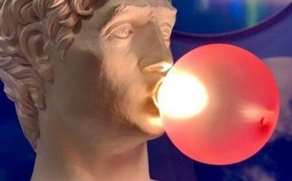 Wonder lampada seletti chewing gum metoo design