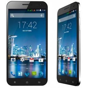 Smartphone Komu K8 4G Black con custodia e pellicola