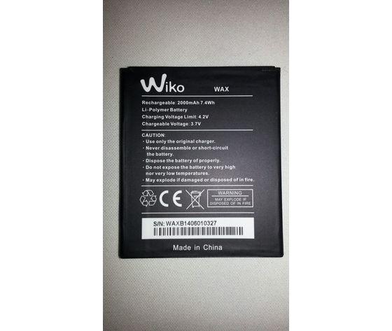 Batteria WIKO WAX Originale Bulk 2000mAh
