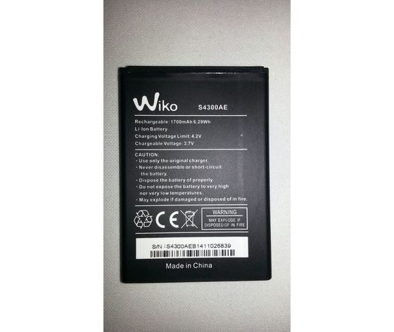 Batteria WIKO JIMMY Originale Bulk 1700mAh