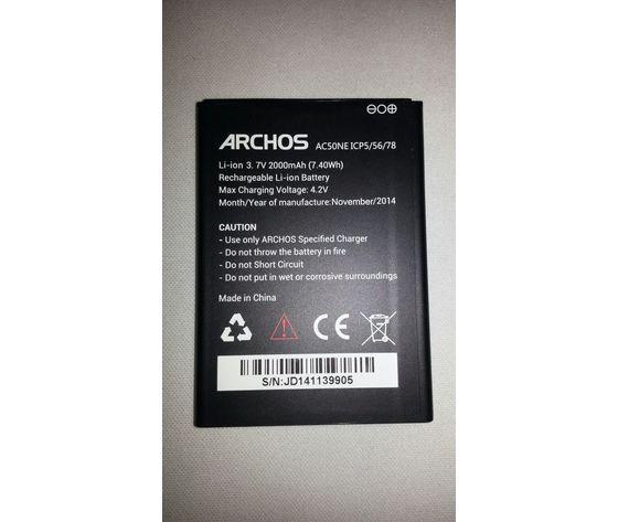Batteria ARCHOS 50 NEON Originale Bulk 2000mAh
