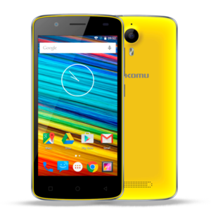 Smartphone Komu Color 4G Giallo