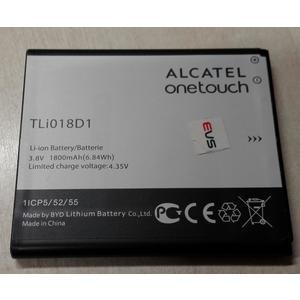 BATTERIA ALCATEL ORIGINALE TLi018D1 in BULK 1800mAh 3,8V