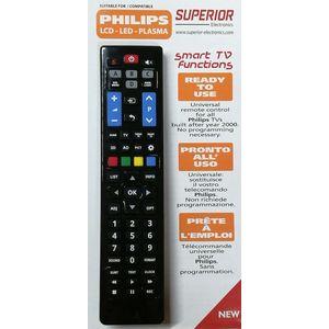 TELECOMANDO UNIVERSALE per TV PHILIPS LCD LED PLASMA
