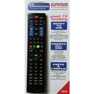 TELECOMANDO UNIVERSALE per TV SAMSUNG e LG LCD LED PLASMA