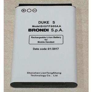 BATTERIA BRONDI DUKE S in Bulk ORIGINALE 3,7V 600mAh BL-5C