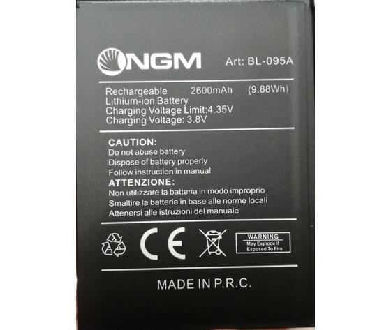 BATTERIA NGM BL-95 ORIGINALE 3,8V 2600MAH per YOUCOLOR P550 P551 P552
