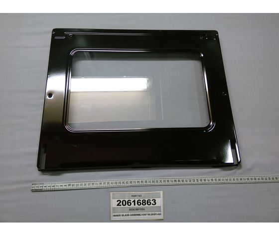 INNER GLASS ASSEMBLY SCHERMO INTERNO FORNO 60x60 VESTEL 20616863