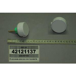PR.AD.KNOB GR/K120-130-F124-WHITE MANOPOLA VESTEL 42121137