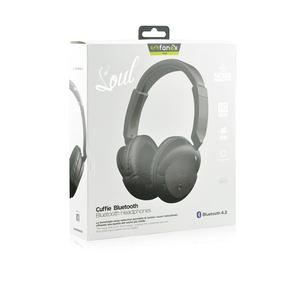 Cuffie Stereo Bluetooth V4.2 + funzione Noise reduction Colore Nero