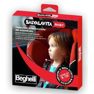 SALVALAVITA BABY cod 3321B BEGHELLI CUSCINO SALVABAMBINO DA AUTO