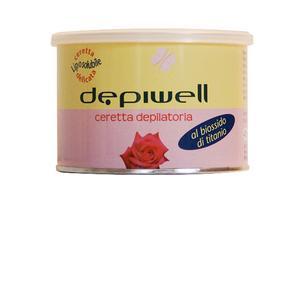 Depiwell Ceretta al biossido di titanio rosa vaso 400 ml 24 confezioni