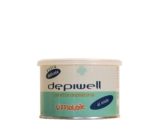 Depiwell Ceretta miele naturale vaso 400 ml 24 confezioni