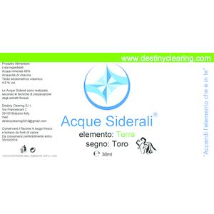 Acque Siderali - SEGNO - TORO