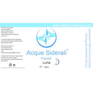 Acque Siderali - PIANETI - LUNA