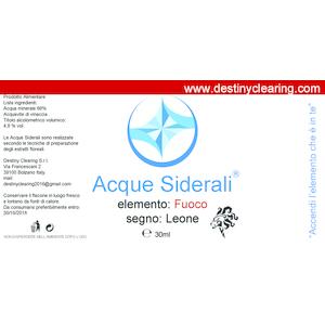 Acque Siderali - SEGNO - LEONE