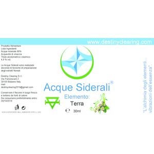 Acque Siderali - ELEMENTI - TERRA