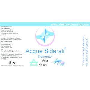 Acque Siderali - ELEMENTI - ARIA