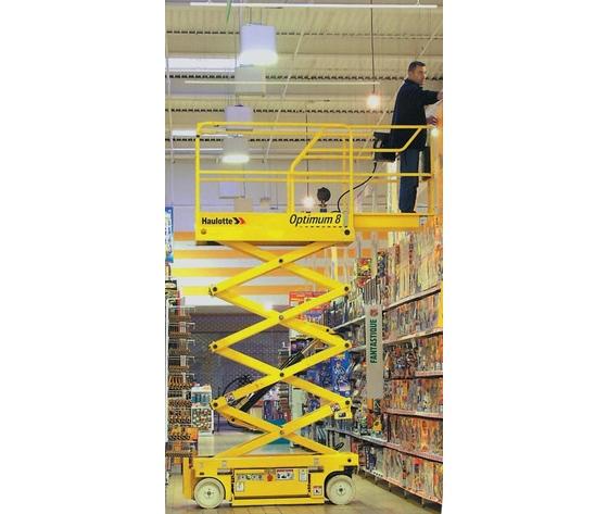 Piattaforma semovente verticale elettrica 8mt